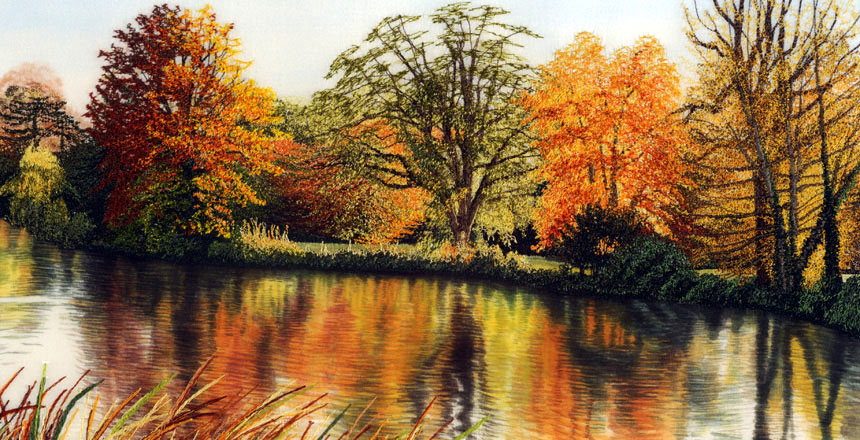 Alison Holt Textile Artist Specialist In Freehand